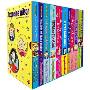 Jacqueline Wilson 12 Books Collection Box Set (Tracy Beaker, Butterfly Club) NEW