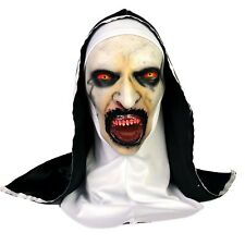 The Nun Headscarf LED Light Up Red Eyes Mask For Halloween Cosplay Costume
