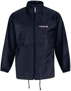 Cressi Unisex's Wind Jacket Dive Center Windproof Dark Blue Medium Free P&P UK