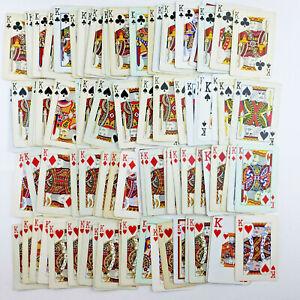 KING Playing Cards, 100 Cards - Junk Journal Supplies, Ephemera, Collage