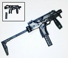 "T9 Sub-Machine Gun w/ working Stock-1:18 Scale Weapon for 3-3/4"" Action Figures"