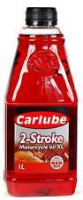 CARLUBE 2 STROKE MOTORCYCLE OIL 2T OIL  - 1 ltr