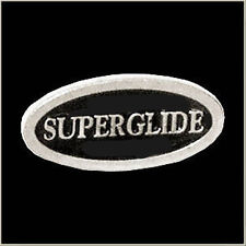 SUPERGLIDE CHROME POLISHED BIKER PIN 1 1/2 INCH PIN