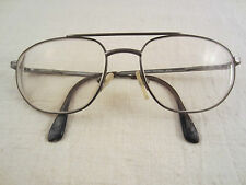 CARRERA BRILLE BRILLENGESTELL CA7023 6TG SILBER VINTAGE GLASSES SPECTACLES ITALY
