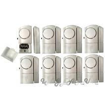 8x Boat Security Wireless Door & Window Sensor Alarms Burglar Intruder 100db NEW