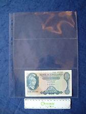 10 X Ricariche banconota Album 3 tasche A4 in Plastica Archiviazione pagina Maniche