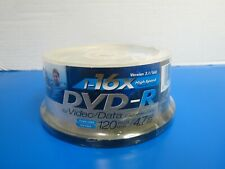 50 Pack Spindle Gigaware DVD-R 120 Min Video 4.7GB Data 16X Speed Blank Discs