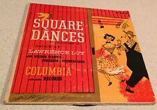 SALE:SQUARE DANCES Vol II 2-Disc 45 RPM Box Set - Lawrence Loy - Columbia H 4-11