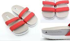 Adidas by Stella McCartney Diadophis Dual Strap Slide Sandal Msrp 100 Bold Red