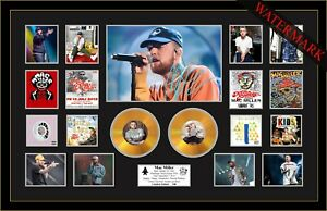 NEW! MAC MILLER DANG! CIRCLES SIGNED MINI GOLD VINYL RECORD LTD ED OF 100 FRAMED