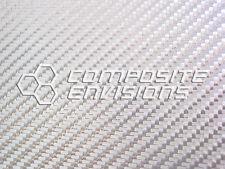 """Silver Aluminized Fiberglass Panel Sheet .133""""/3.4mm 2x2 Twill - EPOXY-48"""" x 48"""""""