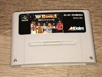 WWF Royal Rumble Nintendo Super Famicom Snes Tested Authentic US Seller