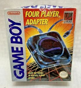 Original Game Boy Four Player Adapter Brand Nintendo New Sealed Box Indented