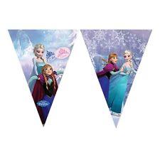 Bandierine Allestimento Feste Gamma di modelli Personaggi con Licenza Compleanno Disney Frozen