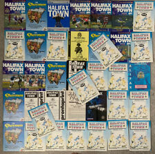 More details for 39 x halifax town home programmes