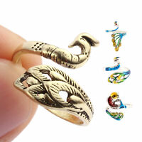 Ring Knitting Tools Finger Wear Thimble Yarn Adjustable Ring Sewing Accessories@