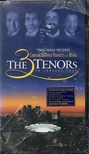 """CARRERAS DOMINGO PAVAROTTI """"THE 3 TENORS IN CONCERT"""" VHS 1994 a*vision sealed b"""