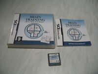 Nintendo DS game - Brain Training How Old is Your Brain complete PAL