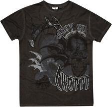 West Coast Choppers T Shirt in grau Modell Battle
