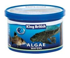 King British Algae Wafers 100g Pleco Fish Tropical Food