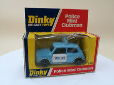 DINKY TOYS 255 MINI CLUBMAN - POLICE   very nice condition