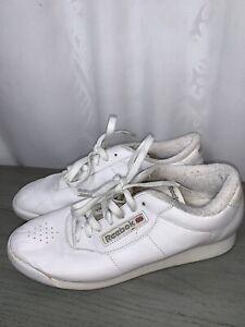 REEBOK CLASSIC 2-1475 PRINCESS White Shoes SIZE 8.5 Women's