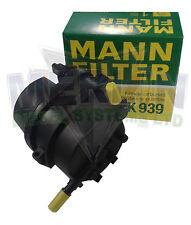 Ford Fiesta MK5 MK6 1.4TDCi Diesel Fuel Filter Mann and Hummel WK939 68BHP