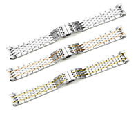 19mm Solid Link End Stainless Steel Bracelet Watch Band For Tissot Le Locle T41