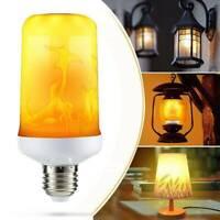 E27 LED Licht Fackel Feuer Lampe Flammen Effekt Birnen Flacker Glühbirne