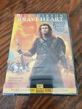 Braveheart Dvd Brand New Sealed 1995 Mel Gibson Widescreen 5 Academy Awards