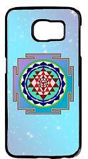 Spiritual Sri Yantra Chakra Hindu Sign Samsung Galaxy&Note Rubber TPU/Hard Cover