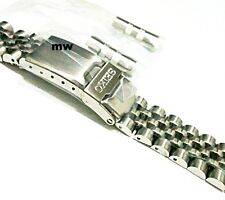 "ORIGINAL 20mm SEIKO JAPAN STAINLESS STEEL JUBILEE BRACELET FREESHIP MEN""S"