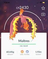 pokemon go Shiny Raid Boss Lv5 (currently Moltres)