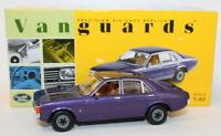Vanguards 1/43 Scale Diecast VA05208 - Ford Granada MK1 - Purple Velvet