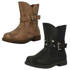 Girls Spot On Calf High Boots