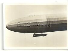 WWI Original German Real Photo- Cigarette Card- Zeppelin- Navy Airship LZ 12