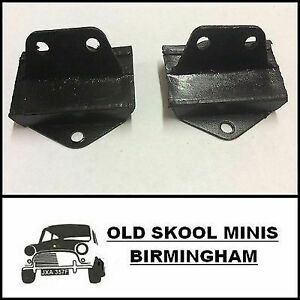 CLASSIC MINI FRONT SUBFRAME TO FLOOR MOUNTS PAIR 1976> 21A2599 x2 998 1275 6D5