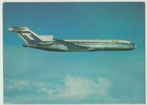 Postcard TAA aeroplane Advance Boeing 727-276 T-Jet by Trans Australian Airlines