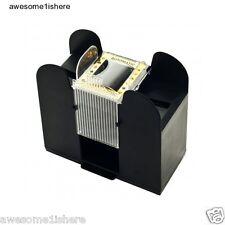 Card Shuffling Machine Casino 6 Deck Automatic Shuffler Bridge Poker Dealer New
