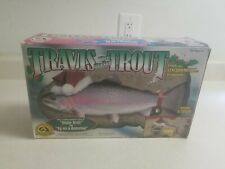 Vintage 2000 Travis the Singing Trout by Gemmy Industries - New!