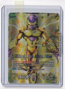 Ultimate Form Golden Frieza BT1-083 R FOIL Leader Dragon Ball Super Card
