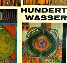 HUNDERTWASSER - orig. Künstler-Plakat zur Ausstellung 1964 in Hannover - RARITÄT