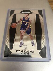 Kyle Kuzma Los Angeles Lakers Panini Prizm NBA 2017-18 ROOKIE Card