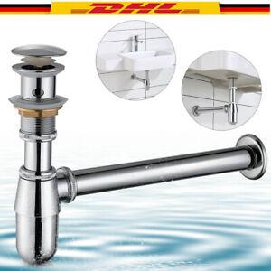 Siphon Syphon Geruchsverschluss Sifon Für Waschtisch Waschbecken Pop Up Abfluss