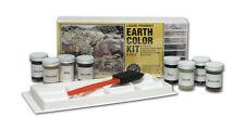 Woodland Scenics Earth Colors Pigment Paint Kit #1215 EIGHT 1 Ounce Colors C1215