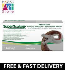 Super Sculpey gris mezcla de arcilla polimérica Polyform 1 lb (approx. 0.45 kg) medio fimo