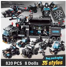 820 pcs City Police Truck Car Building Blocks City Transformer Bricks Set