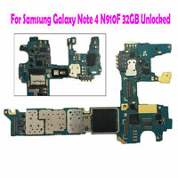 For Samsung Galaxy Note 4 N910F 32GB Unlocked Function Logic Main Motherboard
