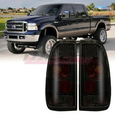 Winjet OE Fit For 2006-2007 Ford F-150 F-250 F-350 LED Brake Tail Lights Smoke