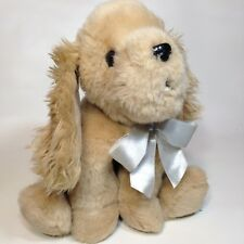 Bearington Sandy Cocker Spaniel Plush Stuffed Animal Brown Puppy Dog 12""